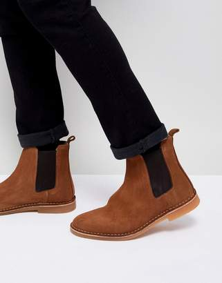 Selected Suede Chelsea Boot