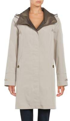 Gallery Removable Hood Rain Coat