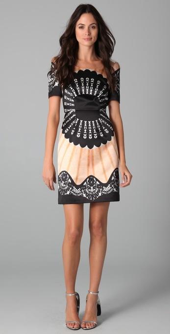 Temperley London Classic Fan Dress
