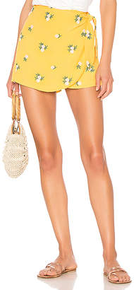 Privacy Please Emory Embroidered Skort