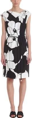 Marc Jacobs Flower Print Belt Dress