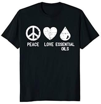 Essential Oils T-Shirt - Peace love Essential Oils Shirt