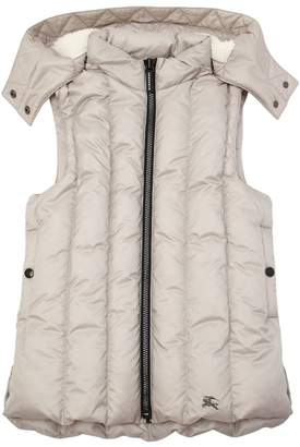 Burberry Hooded Down Vest