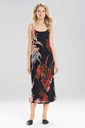 Natori Velvet Burnout Gown