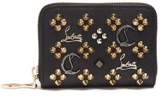 Christian Louboutin Panettone Loubisky leather coin purse