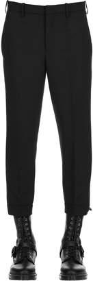 Neil Barrett 17cm Stretch Fine Wool Gabardine Pants