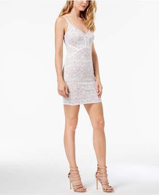 GUESS Lush Lace Bodycon Dress