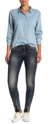 G-STAR RAW Lynn Zip Ankle Skinny Jeans