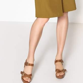 La Redoute Collections Studded Platform Sandals