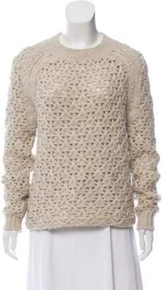 Theyskens' Theory Wool Knit Sweater