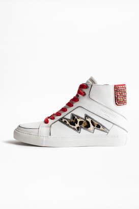 Zadig & Voltaire ZV1747 High Flash Leo sneakers