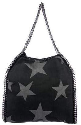 Stella McCartney Falabella Denim Star Small Tote Black Falabella Denim Star Small Tote