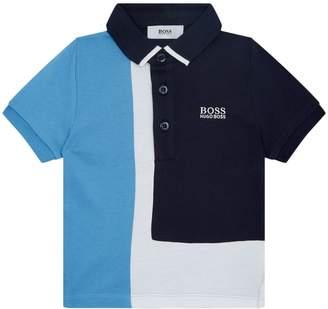 HUGO BOSS Colour Block Polo Shirt