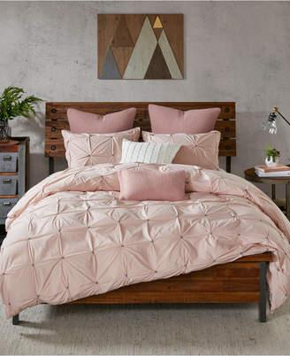 Ink+Ivy Masie 3-Pc. Full/Queen Cotton Comforter Mini Set Bedding