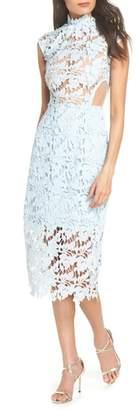Bronx AND BANCO Lidia Lace Midi Dress