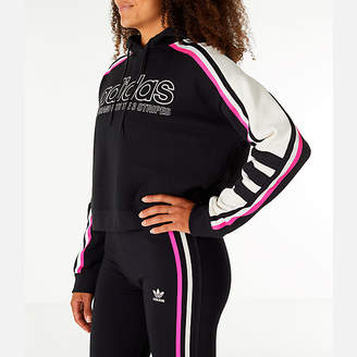 adidas Women's Racing Crop Hoodie