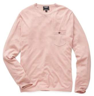 Todd Snyder Cashmere T-Shirt Sweater in Pink
