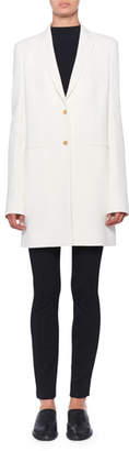 The Row Batilda Two-Button Long Jacket