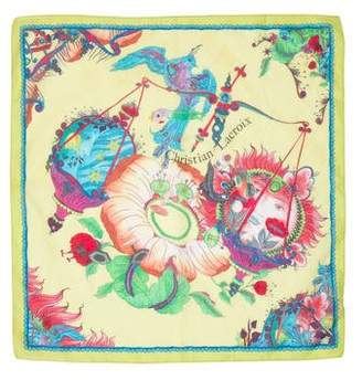 Christian Lacroix Printed Square Scarf