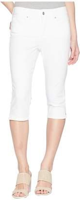 NYDJ Petite Petite Skinny Capris in Optic White Women's Jeans