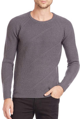 J. Lindeberg Arvid Diagonal Ribbed Sweater