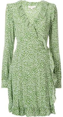 MICHAEL Michael Kors micro floral sleeved dress