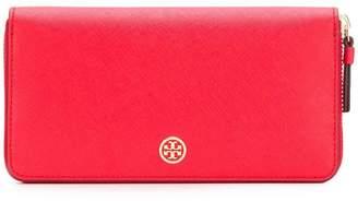 Tory Burch zip around logo wallet