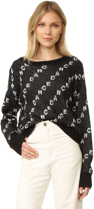 Wildfox Dance Repeat Sweater $158 thestylecure.com