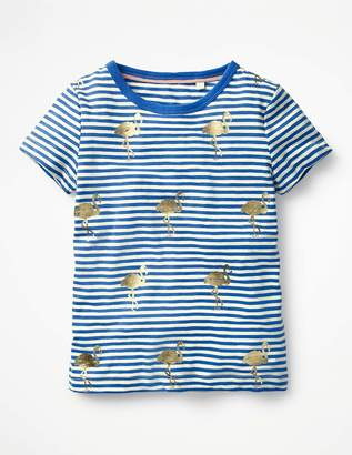 Boden Stripe and Shine T-shirt