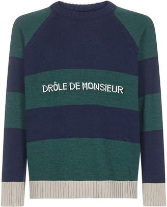 Drôle De Monsieur Drole de Monsieur Sweater