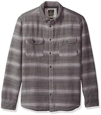 Quiksilver Men's Dusky Town Sherpa Button Down Shirt