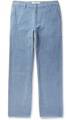 Noon Goons Catalina Cotton-corduroy Trousers - Blue