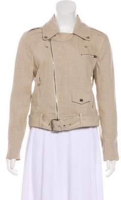 Theory Linen Moto Jacket w/ Tags