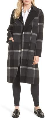 MICHAEL Michael Kors Double Face Wool Blend Oversize Coat