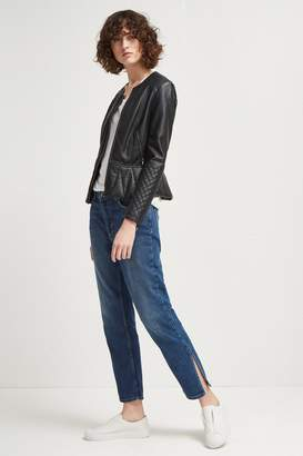 French Connection Boy Fit Side Split Jeans