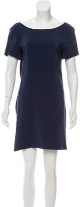 Amanda Uprichard Silk Cowl Back Dress