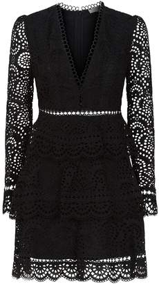 Zimmermann Tali Tiered Lace Dress