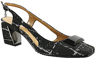 J. Renee Samina Ornament Topped Sling-Back Pumps $99 thestylecure.com