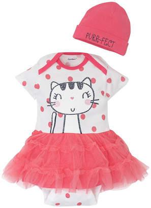 Gerber Bodysuit Set - Baby Girls 0-3M Size