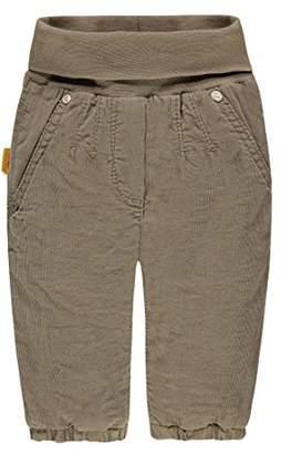 7b20d2977e2059 Steiff Girl's Hose Kord Trousers, Grey (Seneca Rock 5146)
