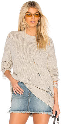 One Teaspoon Laddered Whiskey Sweater