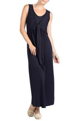 Savi Mom Modesto Maternity/Nursing Maxi Dress