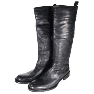 N.D.C. Made By Hand Black Leather Boots