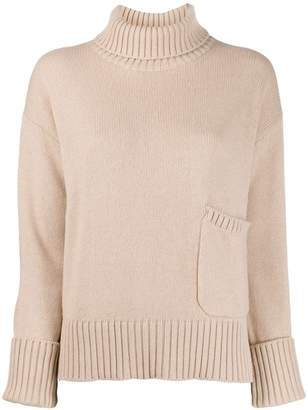 Lamberto Losani funnel neck sweater