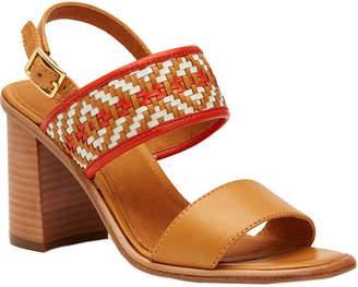 Frye Amy Woven 2 Piece Leather Sandal