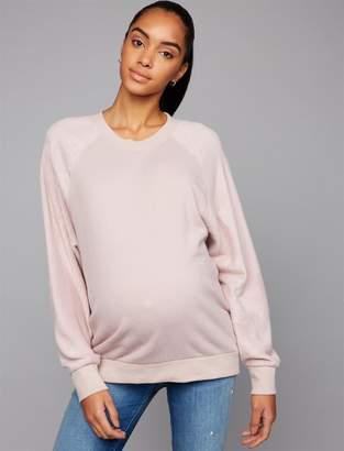 Z Supply Soft Sleeve Maternity Sweatshirt