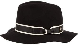 Scotch & Soda Shiny Bow Felt Hat