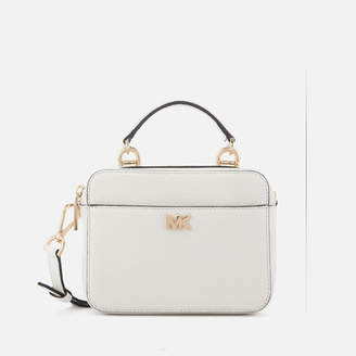 01c1bb2a0a609c MICHAEL Michael Kors Women's Mini Guitar Strap Cross Body Bag - Optic White