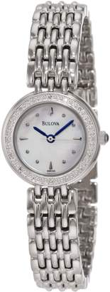 Bulova Women's 96R150 Diamond Petite Classic Watch