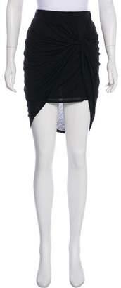 Helmut Lang Knee-Length Drape Skirt